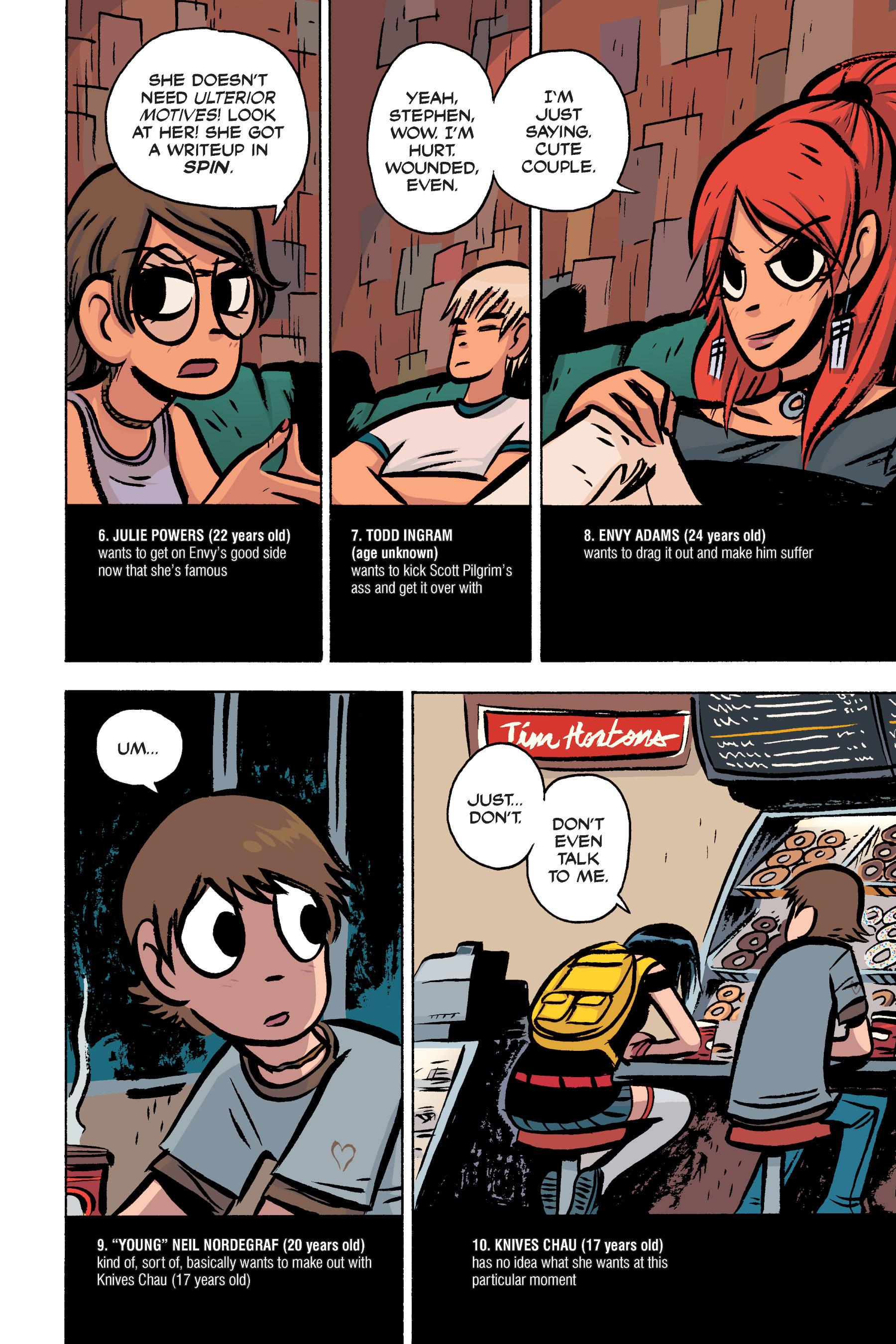 Read online Scott Pilgrim comic -  Issue #3 - 23