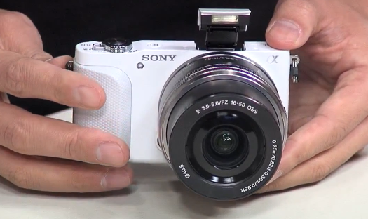 sony nex-3n hands on video