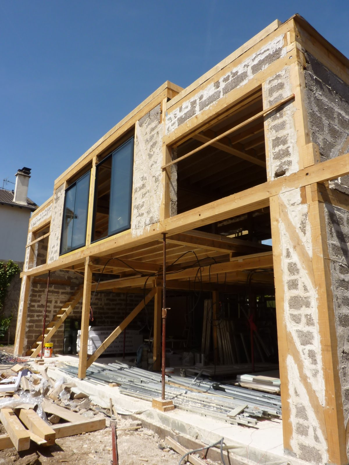 Suite construction maison bois architecte maison bois paris alsace for Architecte maison bois