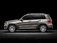 New 2012 Mercedes Benz GLK X204 Restyled Original Image