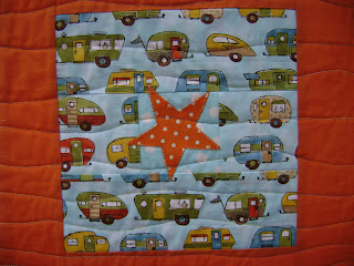 Spot the Caravan quilt
