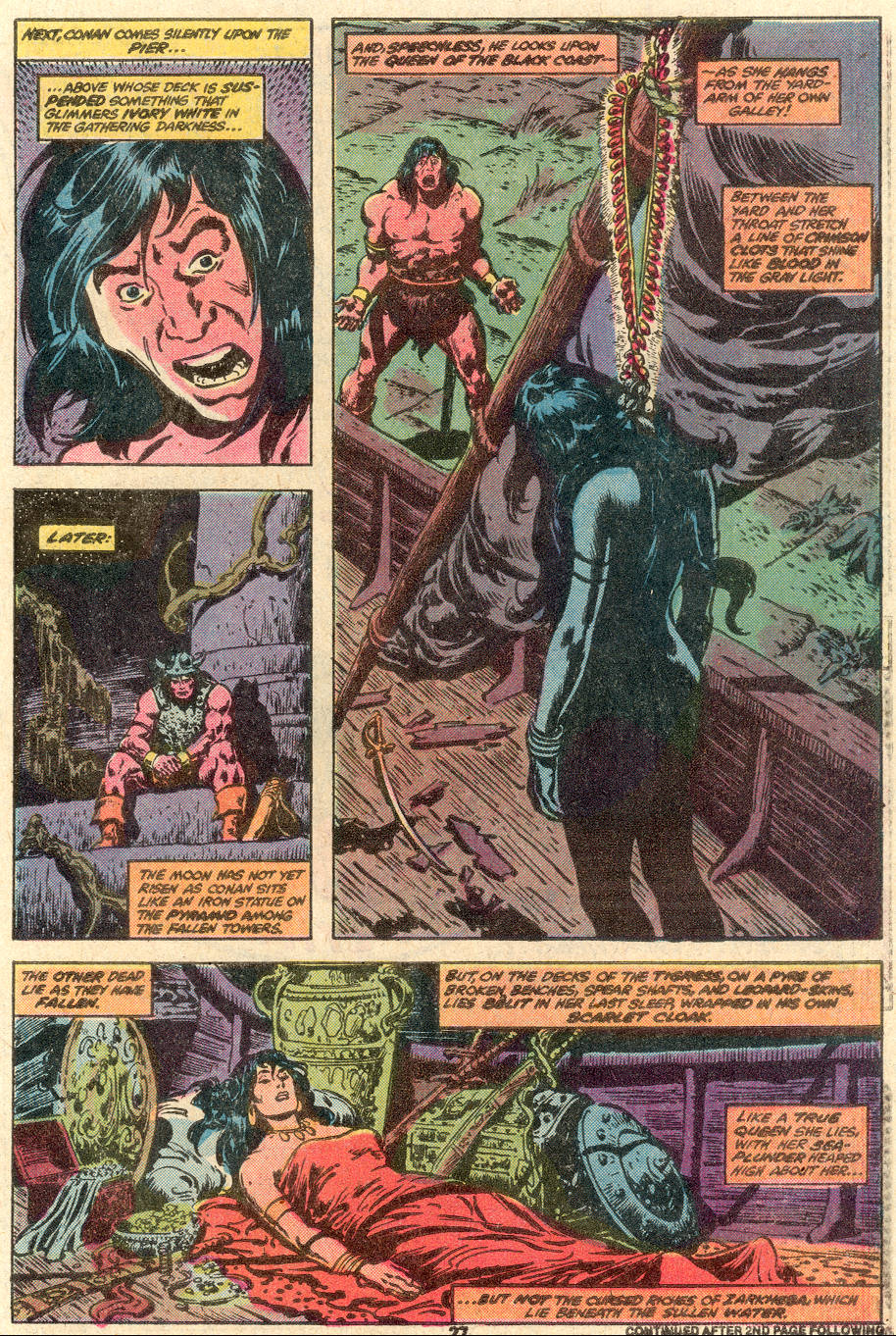 Conan the Barbarian (1970) Issue #100 #112 - English 22