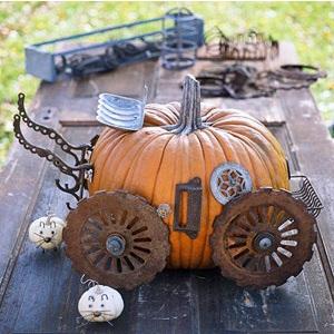 Epbot steampunk pumpkins steampunkins for Easy steampunk ideas