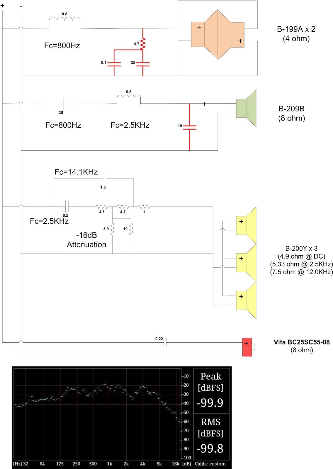 Tweeter Crossover Wiring Diagram Free Download Circuit Additionally 3 Way Speaker Audiophile Musings Bozak Rebuild Project Part 9 Design At