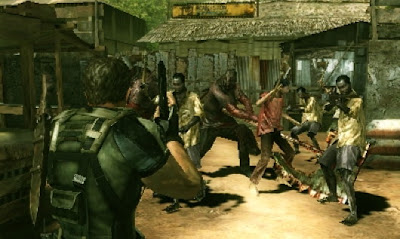 Resident Evil Mercenaries 3DS