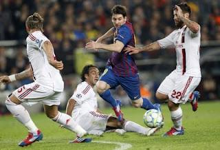 أهداف مباراة برشلونه وميلان 3-1 في دوي ابطال اوروبا بتعليق الشوالي 3-4-2012