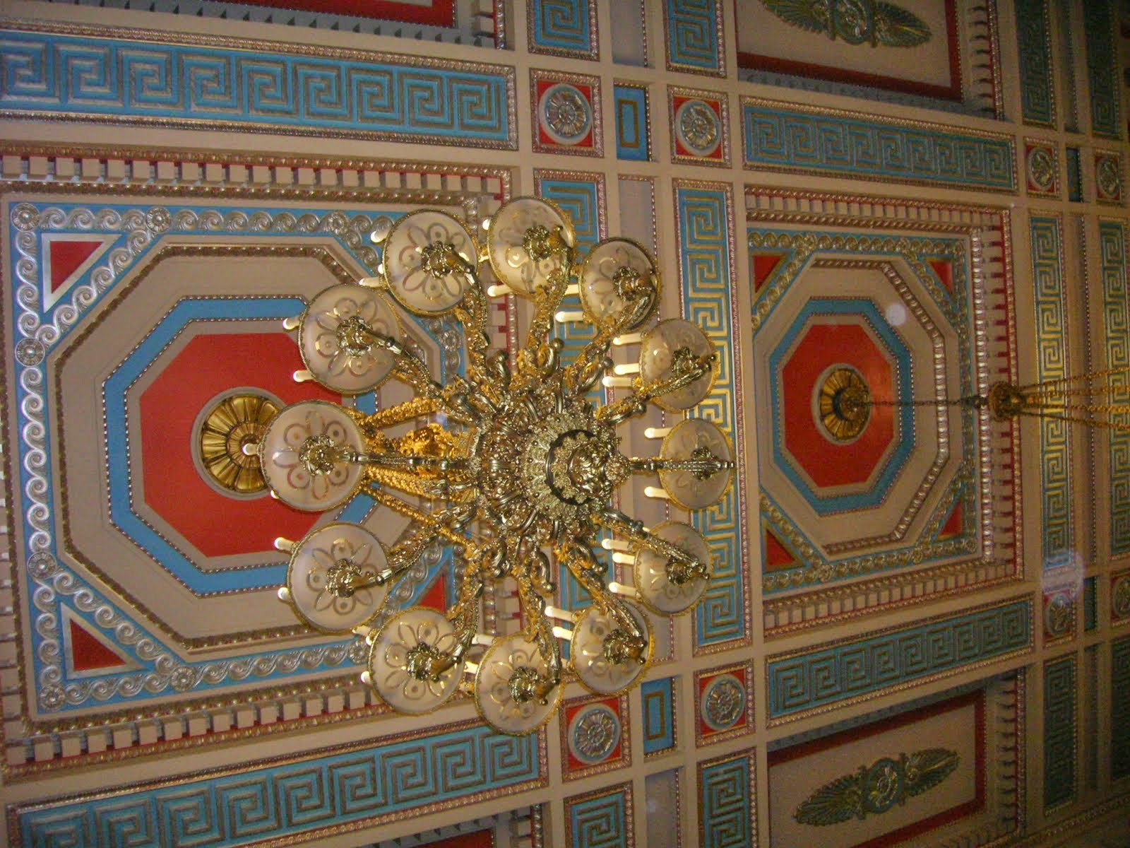 Ceiling at Stormont