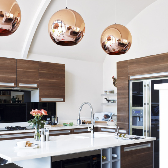 New Home Interior Design: Modern Kitchen