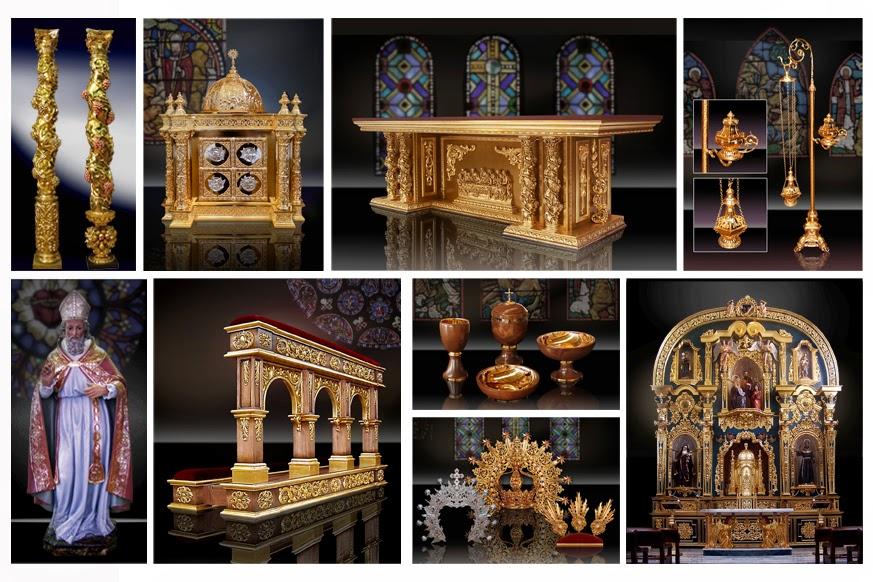 Taller de arte religioso salmer n apostolus feria - El taller de lo antiguo ...