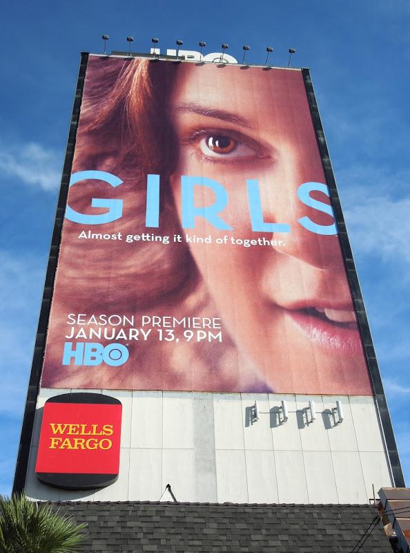 Giant Girls season 2 billboard
