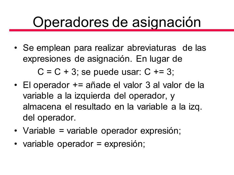 Algoritmos Facilitos En PSeInt y C++.: Operadores en C++