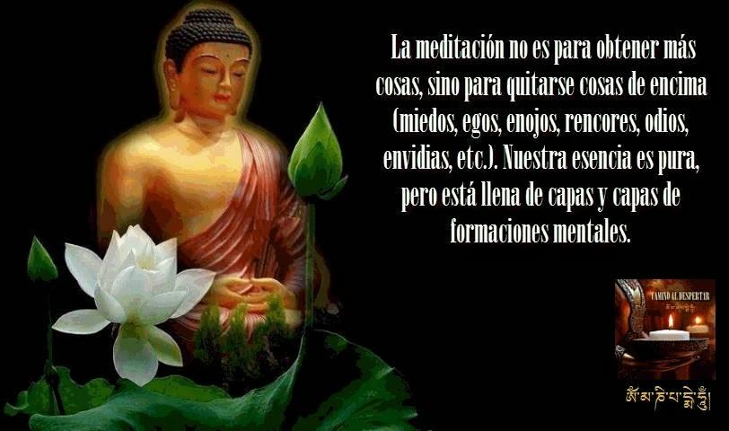 Meditamos Lunes, Martes, Miercoles, Jueves y Viernes