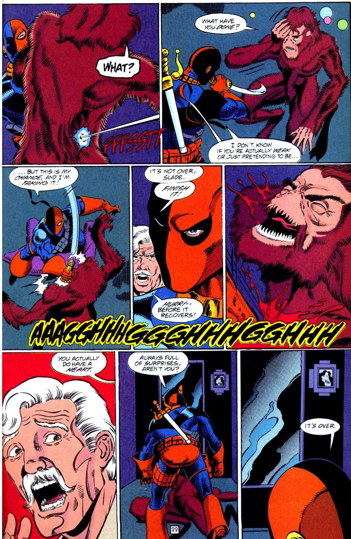 Deathstroke (1991) Issue #38 #43 - English 23