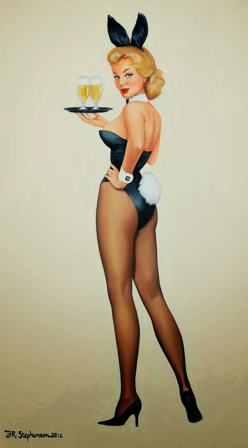 foto de Pin up Bunnies by Fiona Stephenson Pin Up and Cartoon