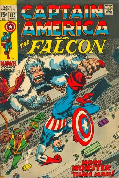Captain America #135