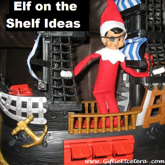 Elf on the Shelf Ideas; pirate