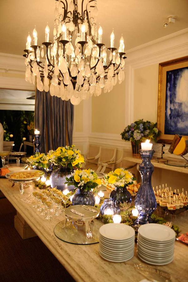 TODA CHIC CENTROS DE MESA CASAMENTOS -> Como Decorar Mesa De Jantar Para Casamento
