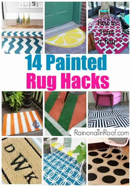 14 Painted Rug Hacks