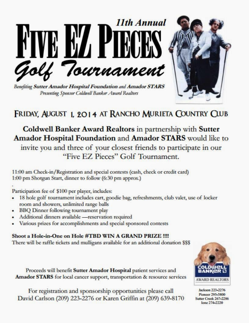 Five EZ Pieces Golf Tournament - Fri Aug 1