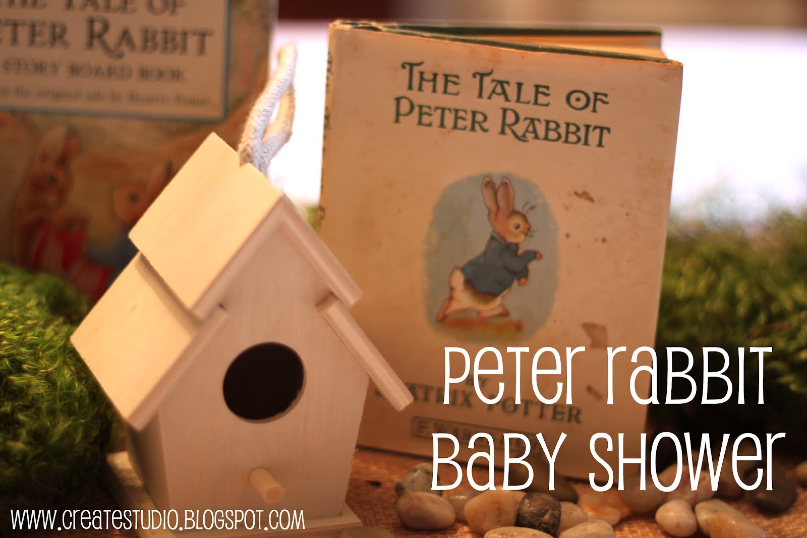create studio peter rabbit baby shower