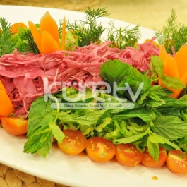 Mor Lahana Salatası Tarifi