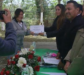 CAROLINA SÁNCHEZ RUIZ, TERCER LUGAR REGIONAL EN CONCURSO DE ORTOGRAFÍA