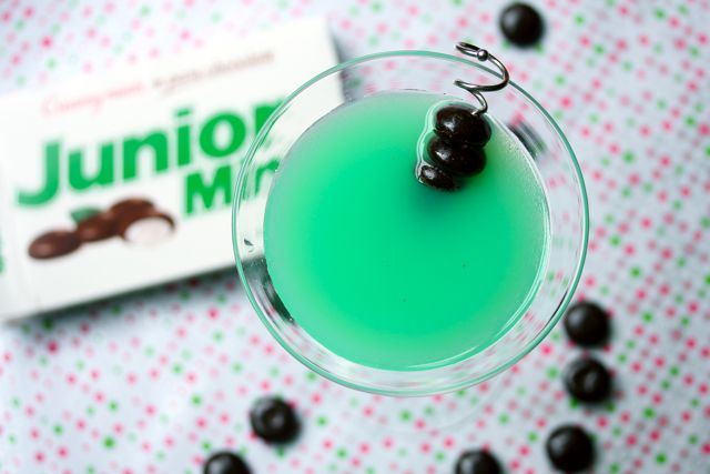 junior mint martini cocktail