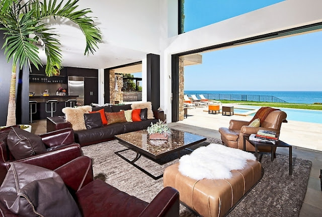 Malibu Beach House with Castle Exterior - Inspiring Modern Home