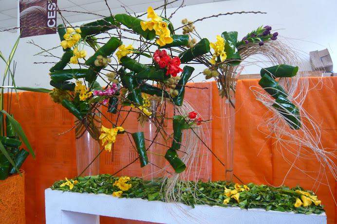 Curso de Arte Floral na Albano Segunda Edição.