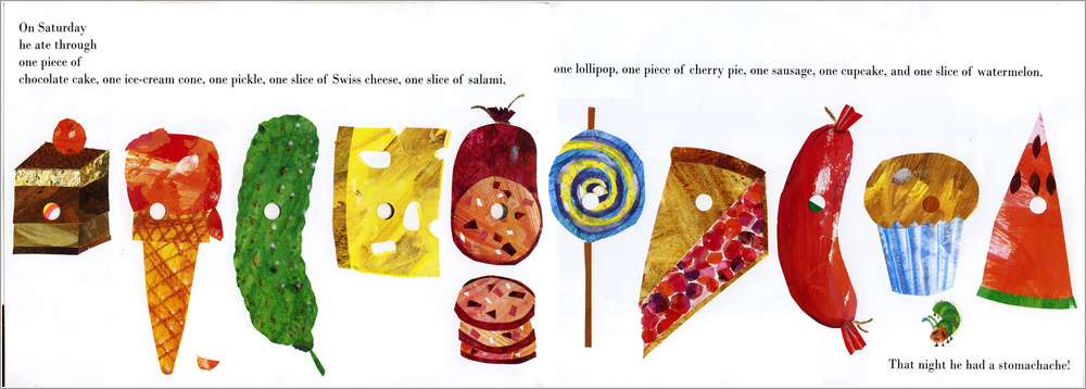 Book the very hungry caterpillar by eric carle