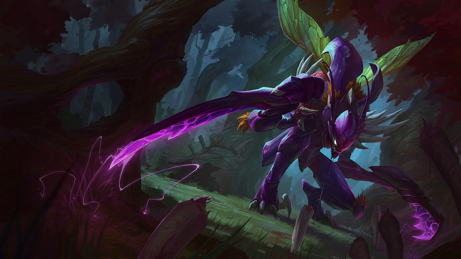 khazix league of legends lol champion wallpaper