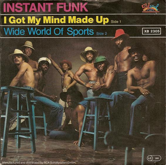 I Made Up Instant Funk Got My Mind : Back to the seventies oktober