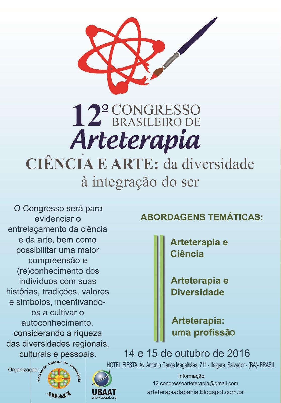 12º Congresso Brasileiro de Arteterapia