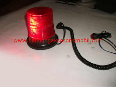 Lampu Rotary LED 12 V Red