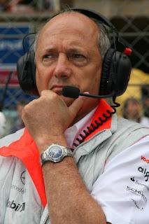 Ron Dennis-McLaren F1 team Owner