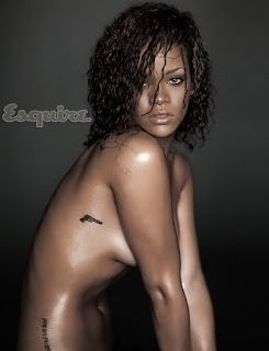 Rihanna nude in Esquire November 2011 hot naked