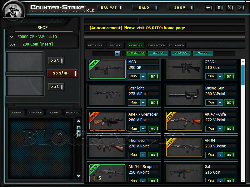 Crossfire Offline versão 2012 CS-Red-2012-v5.2.6