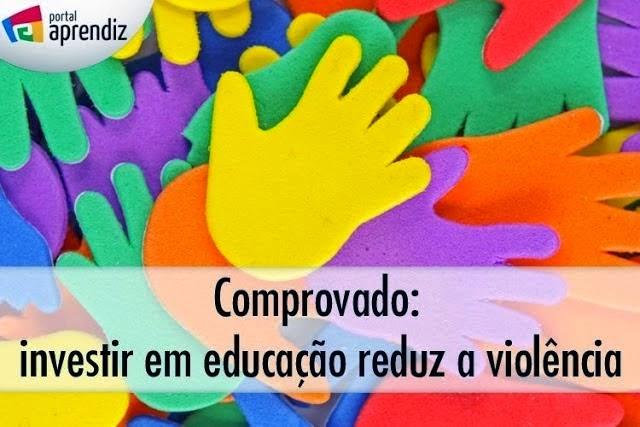 INVESTIR EM EDUCAÇÃO