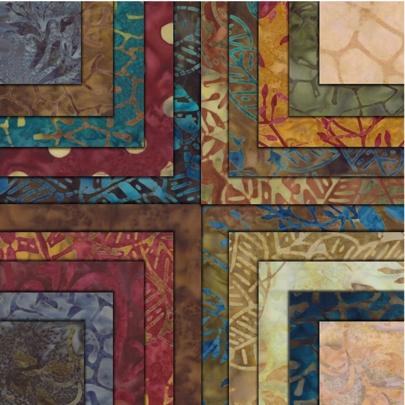 Moda HOPE CHEST BATIKS Quilt Fabric by Edyta Sitar of Laundry Basket Quilts