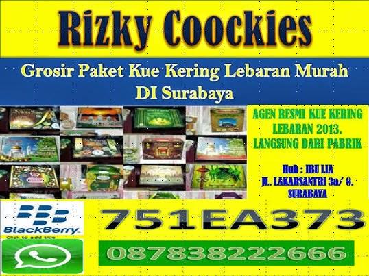 Grosir Paket Kue Kering di Surabaya 2014