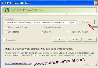 konversi file word ke PDF