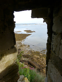 View from Sandsfoot Castle