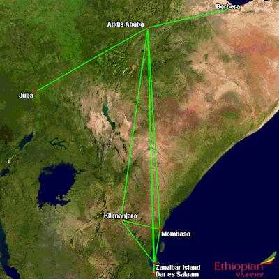 Ethiopian's East Africa Changes