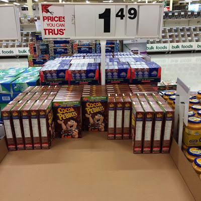 The elusive Cocoa Pebbles that my friend spotted.
