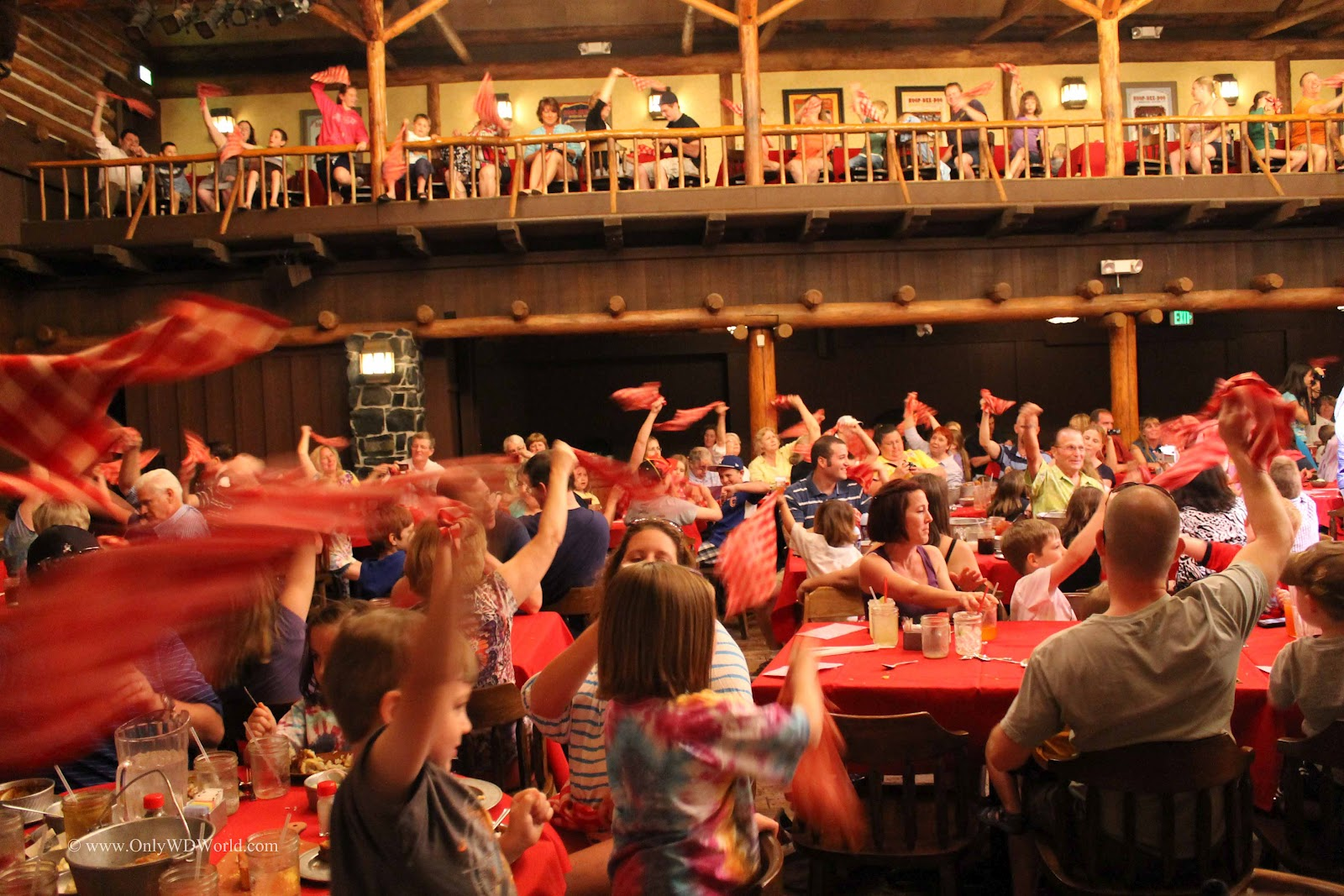 Disney World Family Fun At The Hoop Dee Doo Musical Revue