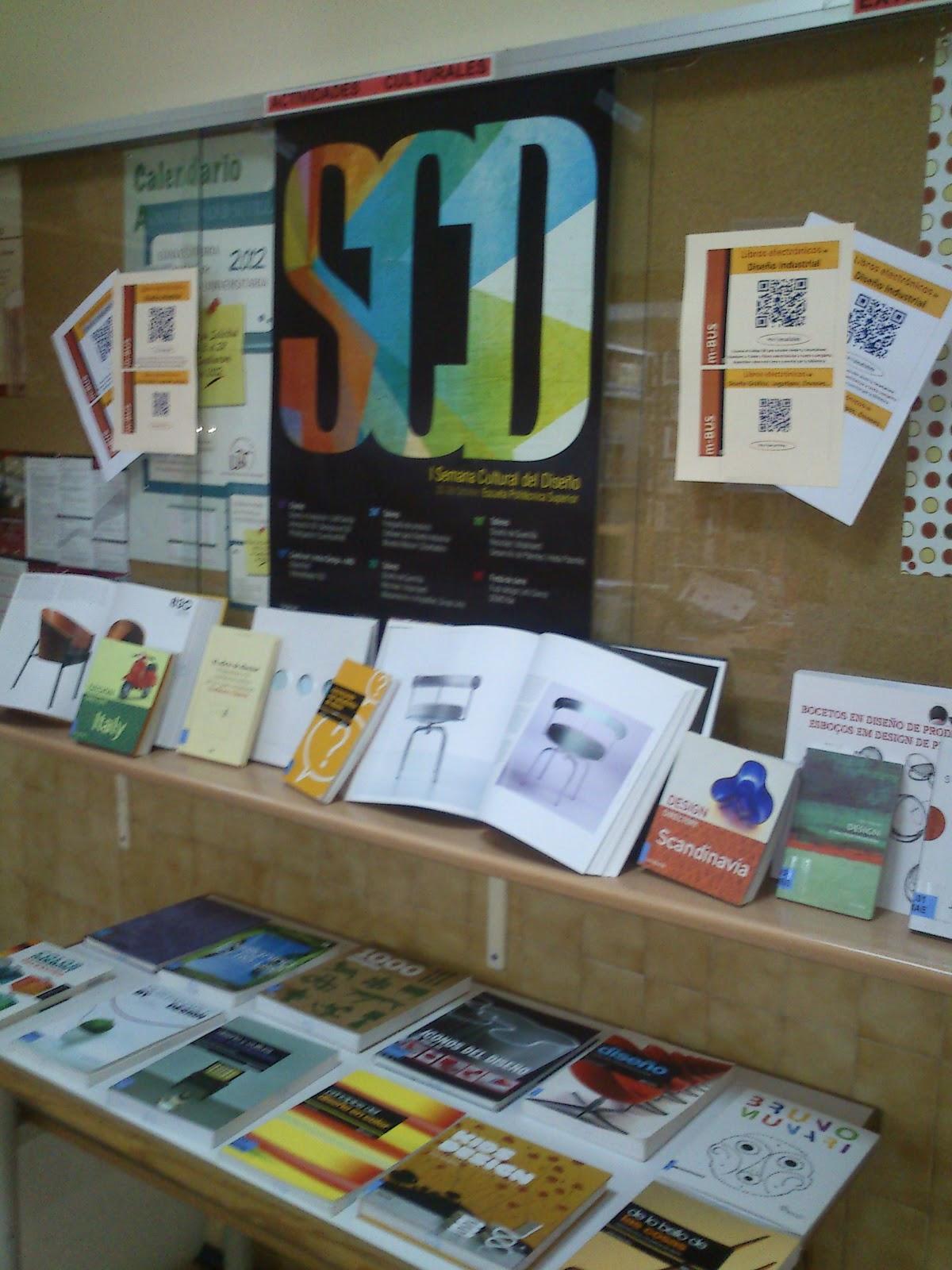 Bibpolitec blog exposici n en la biblioteca libros de - Libros diseno industrial ...