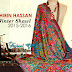 Shirin Hassan Winter Shawl Collection 2015-2016 For Women | Floral Printed Shawl