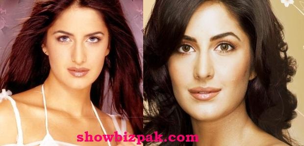 Katrina Kaif Before And After Nose Katrina Kaif  Nose Job