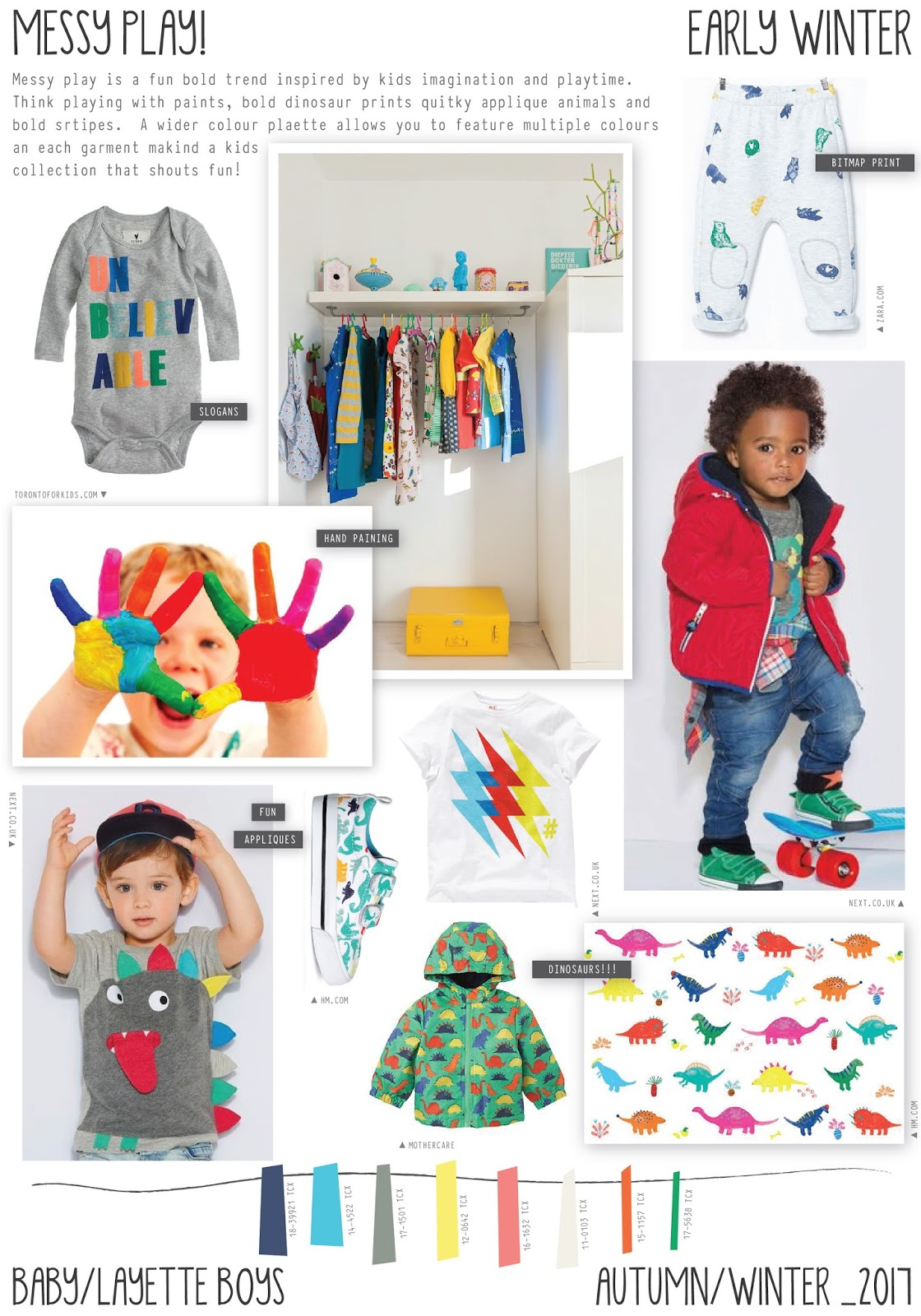 Trends 2017 autumn winter - Emily Kiddy Messy Play Autumn Winter 2016 17 Baby