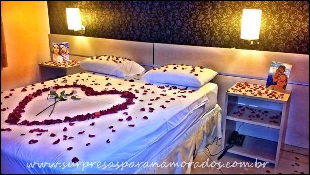 Surpresa no Hotel Aniversário de Namoro Surpresas para  ~ Surpresa No Quarto Do Meu Namorado
